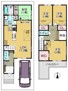 中神田町4号地モデル