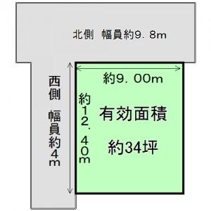 上神田1丁目 土地図面