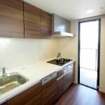 お料理に集中できる個室型キッチン